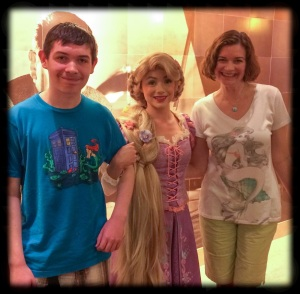 meeting Rapunzel