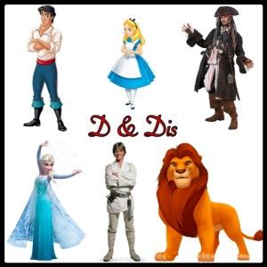 D & Dis logo